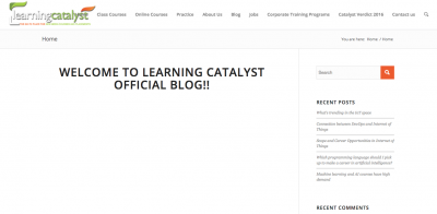 learning catalyst digital marketing ainstitute in india