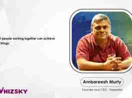 Ambreesh Murty- CEO pepperfry