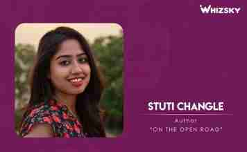 Stuti Changle - Author- On the open road