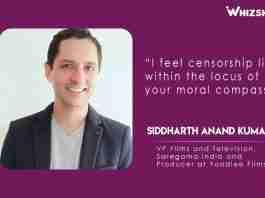 Siddharth Anand Kumar-Producer atYoodleeFilms