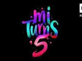 mi turns 5