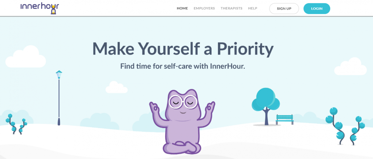 InnerHour mental health and wellness startup