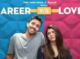 Career vs Love